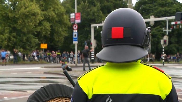 Politie klaar voor verboden demonstratie