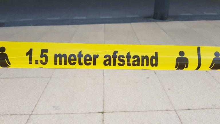 Gemeente Den Haag blijft bij de bizarre 1.5 meter regel