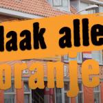 Jan Joost peilt Oranjekoorts in Den Haag Marktweg